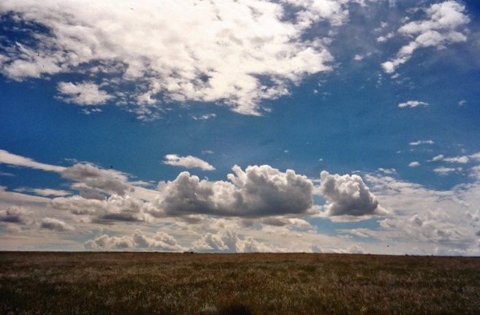 Big sky of the Saskatchewan province of Canada